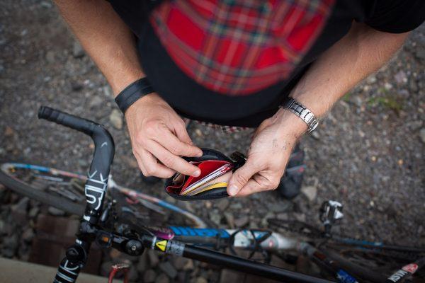 Portemonnaie aus Fahrradschlauch arthurkopf