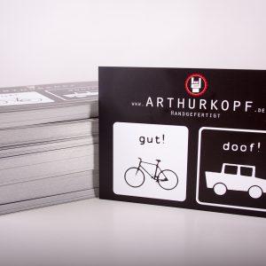 Postkarte Gut! Doof!