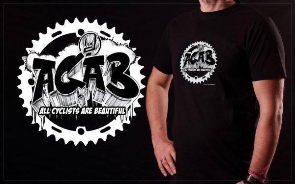 ACAB Fahrrad T-Shirt arthurkopf