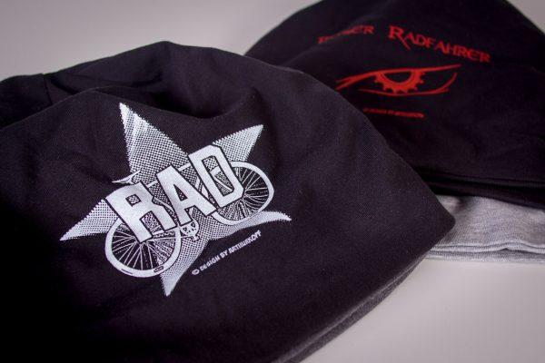 Arthurkopf Mütze RAD siebdruck