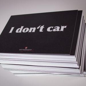 I don´t car