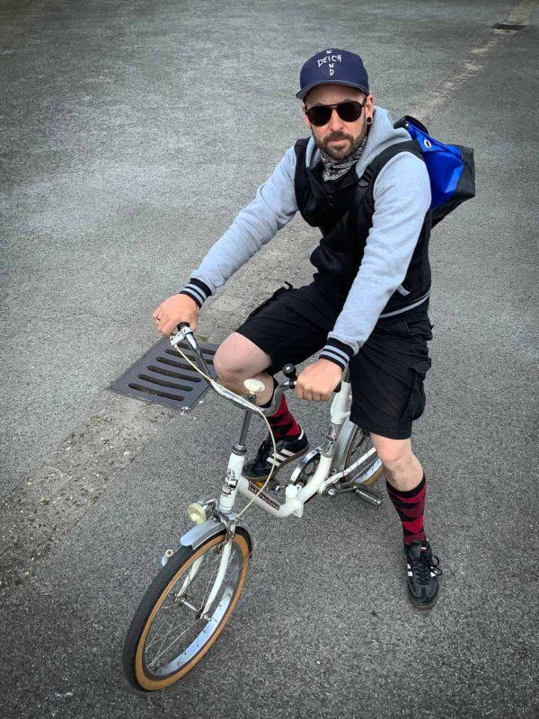 arthurkopf messenger fahrradschlauch tasche