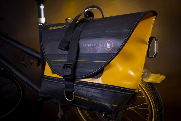 Arthurkopf Fahrradtasche Klickfix
