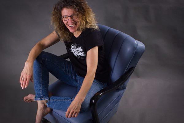 Siebdruck T-Shirt Fahrradmotiv Splash ARTHURKOPF